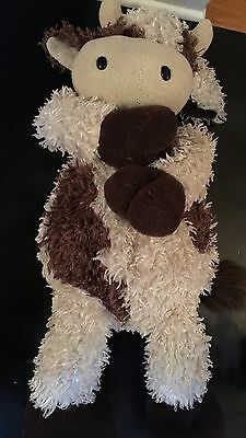 "Dan Dee Collector's Choice Plush Cow Bull Large 27"" Soft"