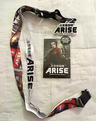 Ghost in the Shell Arise Lanyard New