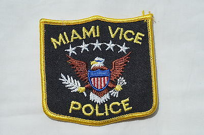 US Miami Vice Police Patch Obsolete