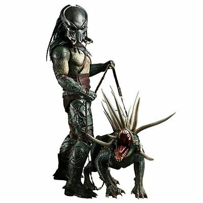 """Tracker Predator Hot Toys 12"""" Deluxe Action Figure Toy Sideshow Collectibles"""