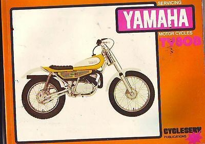 Yamaha Ty80B Ty80 60B  Service Workshop Repair Motorcycle Motorbike Manual  New
