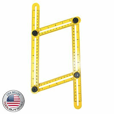 TGR Angle-izer Multi-Angle Ruler Template Tool - ORIGINAL TGR - USA SHIPPING