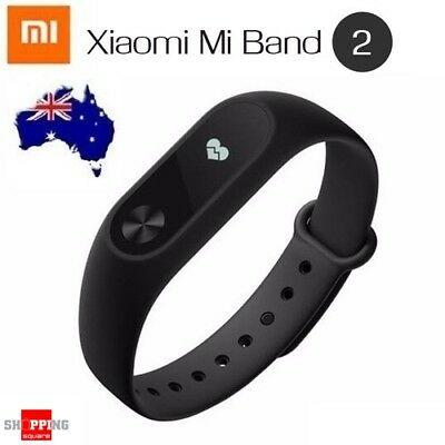 100% Genuine Xiaomi Mi Band 2 Heart Rate Smart Wristband with White OLED Fitness