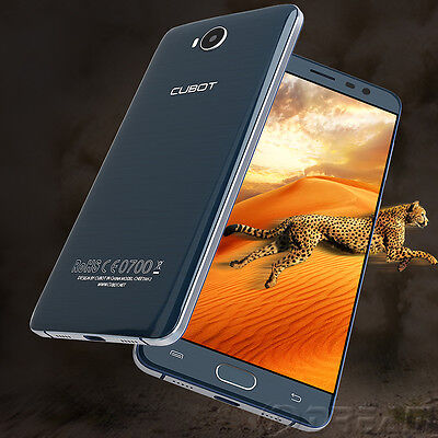 """5.5"""" FHD Cubot Cheetah 2 Android 6.0 4G MTK6753 3GB 32GB Touch ID Mobile Phone"""