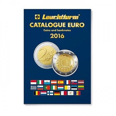 Euro Catalogue for coins and banknotes 2016, English
