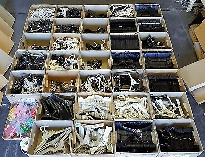 BULK LOT (Ex Retail) COAT HANGERS (3000+/-) for Clothing 0000-Adult Tops/Pants