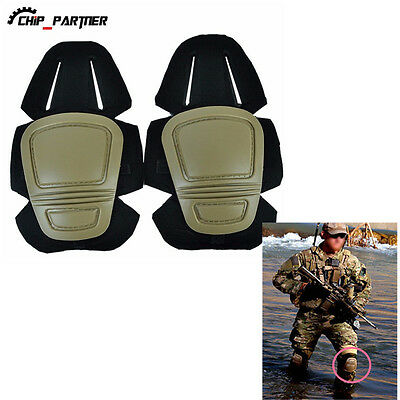Military Airsoft V3 Protective Set Gear Knee Pads For Skating Outdoor Combat