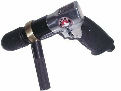 "1/2"" Keyless Reversible Air Drill with Removable Handle pneumatic tool chuck"