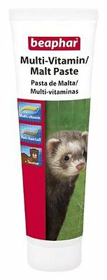 Beaphar multi vitamin malt paste ferret paste 100g (15367)PACK OF 3 TUBES