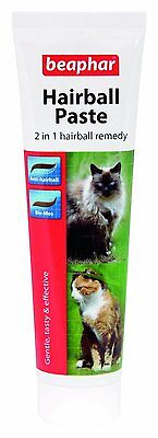 Beaphar Cat Hairballs 2 In 1 Hairball Remedy Paste 3252