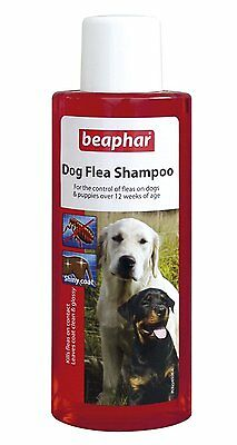 Beaphar Dog Flea Wash Bath Shampoo Treatment for Dogs Puppies Killing Fleas