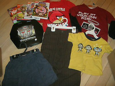 Boys Clothes Size 3 Jumping Beans, Woodland, Angry Birds Plus More