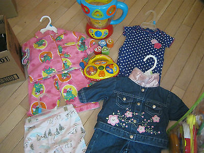 Lot Of Girls Size 6Mos, The Wiggles, Gymboree Plus More