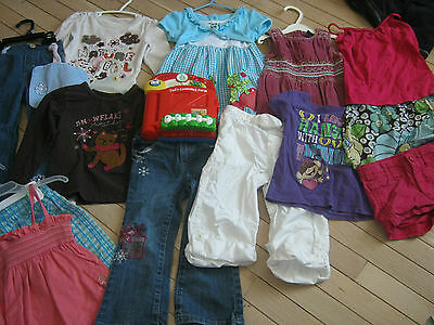 LOT OF GIRLS CLOTHES SIZE 3, baby gap, joe PLUS A LEAP FROG TAD'S COUNTING FARM