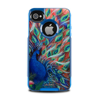 Skin for Otterbox Commuter iPhone 4 - Coral Peacock by Juleez - Sticker Decal