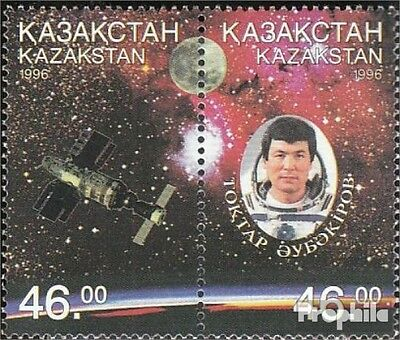 kazakhstan 134-135 Couple unmounted mint / never hinged 1996 Spaceflight of T. A