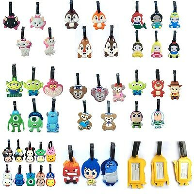 45 Styles New Luggage Tags Travel Suitcase Baggage Card Holder Name Bags Tags