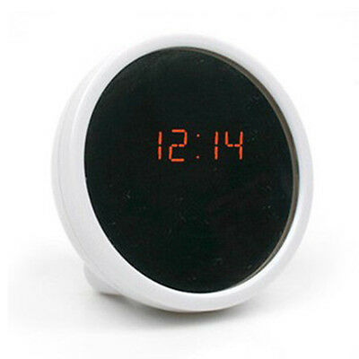Hot Mirror Clocks LED Digital Display Alarm Beauty Mirror For Travel Camping