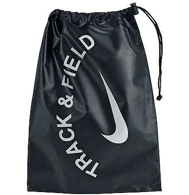 New NIKE Track & Field Spikes Shoe Tote Carry Bag Black