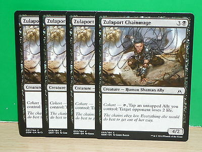 MTG Oath of the Gatewatch - Zulaport Chainmage x 4