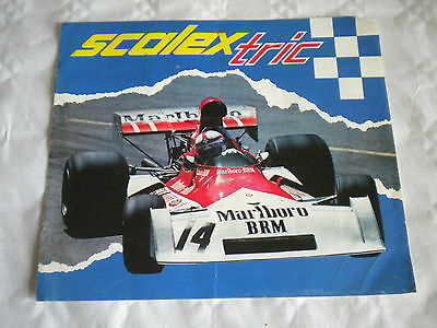 Vintage French Scalextric catalogue Ref 91792 1970s