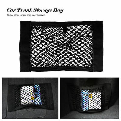 Universal Car Seat Back Trunk Storage Mesh Net Bag Cargo Elastic String Nets Hot