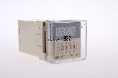 24VDC Programmable DH48S-2Z Timer Time Delay Relay Counter