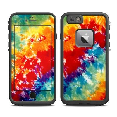 Skin for LifeProof FRE iPhone 6 Plus - Tie Dyed - Sticker Decal