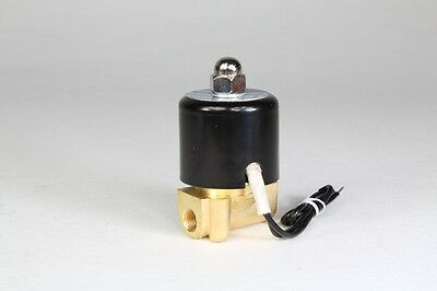 "AC 110V  1/8"" Electric Solenoid Valve Water Air N/C Gas Water Air 2W025-06"
