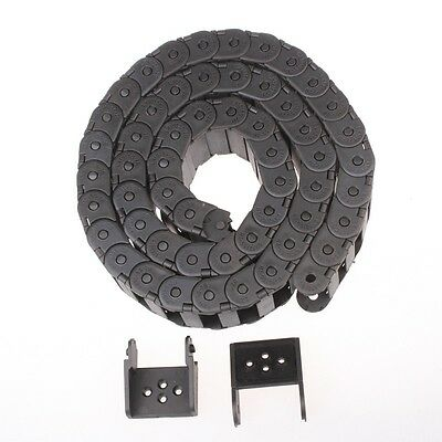 "1 pcs Cable drag chain wire carrier 15*40mm R38 1000mm (40"")"