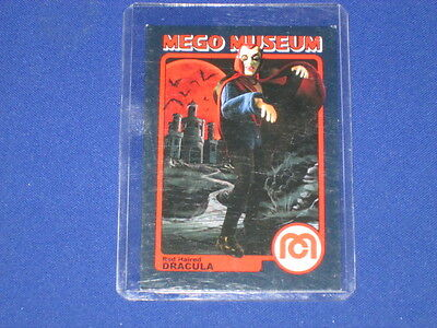 Red Haired Dracula Vampire Monster Horror Wgsh Mego Museum Promo Trading Card