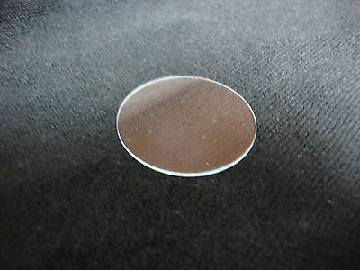 34.50 Mm  Flat Glass Crystal  New Watch / Clock Parts