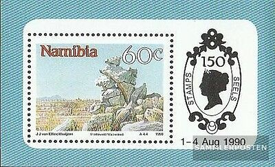 namibie Bloc 12 neuf 1990 attractions