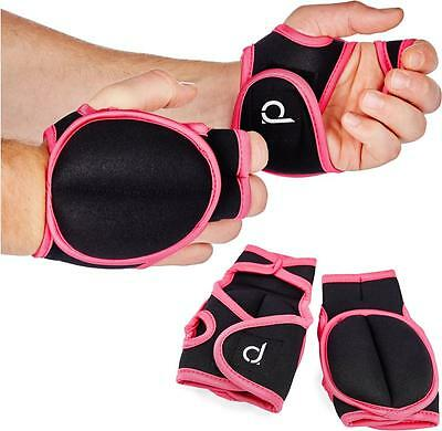 Andrew James Neoprene Weighted Workout Gloves - 0.5kg, Pair Weighs 1kg