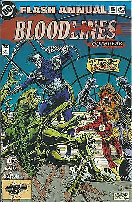 Flash Annual #6 (Dc) 1993 (Bloodlines)