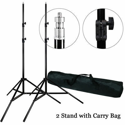 Photograph Studio 2 x 7ft Light Photo Video Studio Lighting Stand with Bag