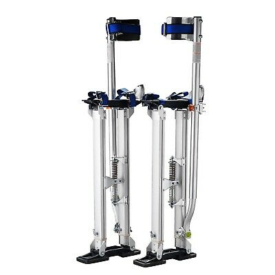 "Pentagon Tool Professional 24""-40"" Silver Drywall Stilts Highest Quality"