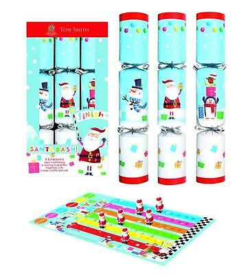 Tom Smith North Pole Grand Prix Christmas Crackers x 6