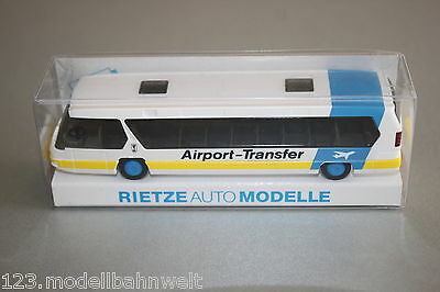 "Rietze 60152 Neoplan Metroliner ""Airport-Transfer"" 1:87 Spur H0 OVP"