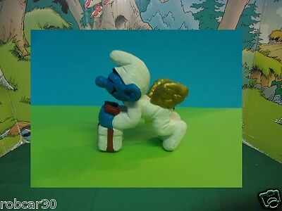 SCHTROUMPF SCHLUMPF SMURF PITUFO RARE CHRISTMAS SMURFS ANGEL w PACKEG