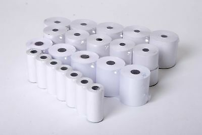 PaymentSense iWL220 Without Round Back 25mm Dia. Coreless Thermal PDQ Rolls