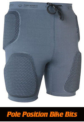 Forcefield Action Impact Shorts With  Pro Armour Xs-S-M-L-Xl