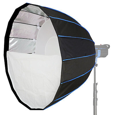 LIFE of PHOTO Para-Softbox 150 cm für MULTIBLITZ P Lichtformer Parabol-Form