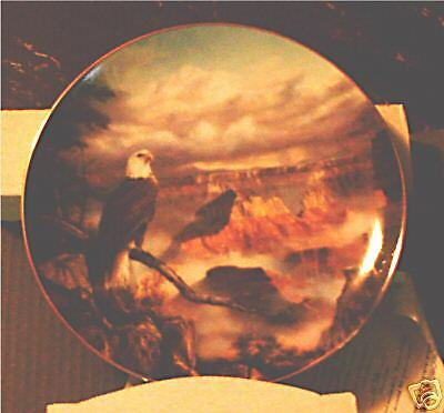 Timeless View * Eagle * Natures Majesty * Ltd Edition Plate