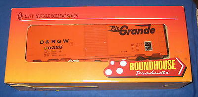 Roundhouse Products G Gauge Rio Grande Box Car