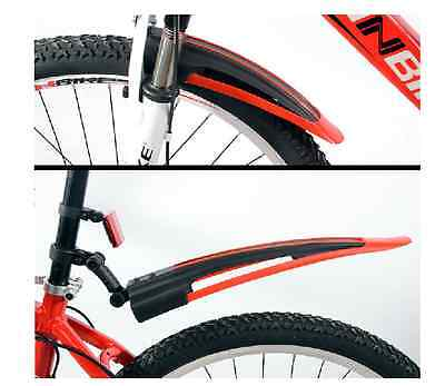 Bicycle Cycling Road Front Rear Mud Guard Mudguard Set Mountain Bike Tire Fender