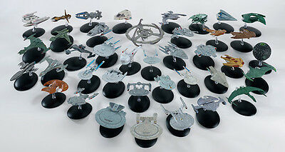 Star Trek Raumschiff Modelle - Metall - Eaglemoss TNG Voyager DS9 Enterprise 56-