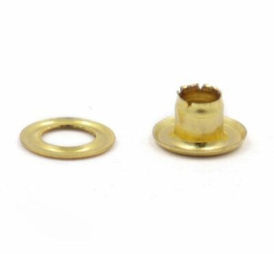 4mm Gold Eyelets 25 Pack