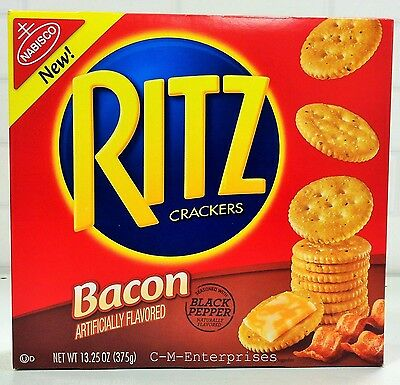 Ritz Bacon Flavored Crackers 13.25 oz