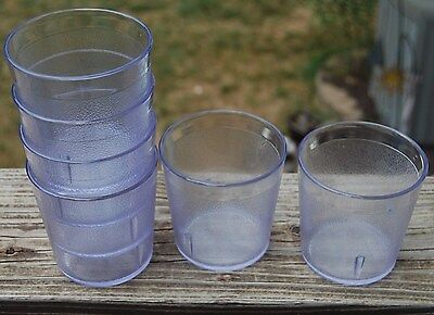 NEW LOT OF 12 Carlisle Stackable Old Fashion Tumbler 5529207 BPA FREE CLEAR
